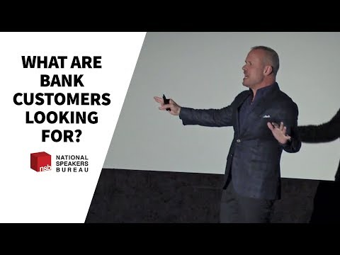 What are Bank Customers Looking For? Speaker David Allison Profiles Banking Clients