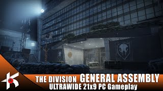 The Division | GENERAL ASSEMBLY [1.8.2 LEGENDARY] ULTRAWIDE PC Gameplay 3440x1440 21:9 60fps