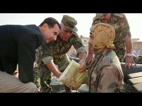الرئيس السوري بشار الأسد في زيارة مفاجئة لمدينة إدلب  - نشر قبل 37 دقيقة