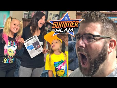 My Family is going to WWE Summerslam 2018 Without Me