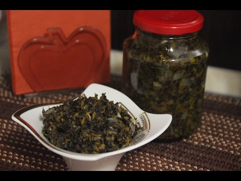 Caviar from mushrooms ( delicious recipe )