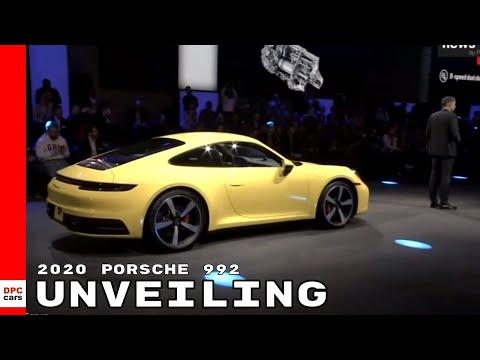 2020 Porsche 911 aka 992 Unveiling