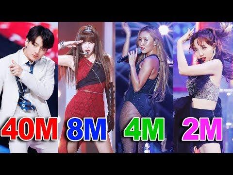 TOP 50 Most VIEWED K-Pop FANCAMS of 2019