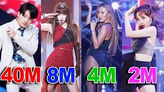 TOP 50 Most VIEWED K-Pop FANCAMS of 2019!