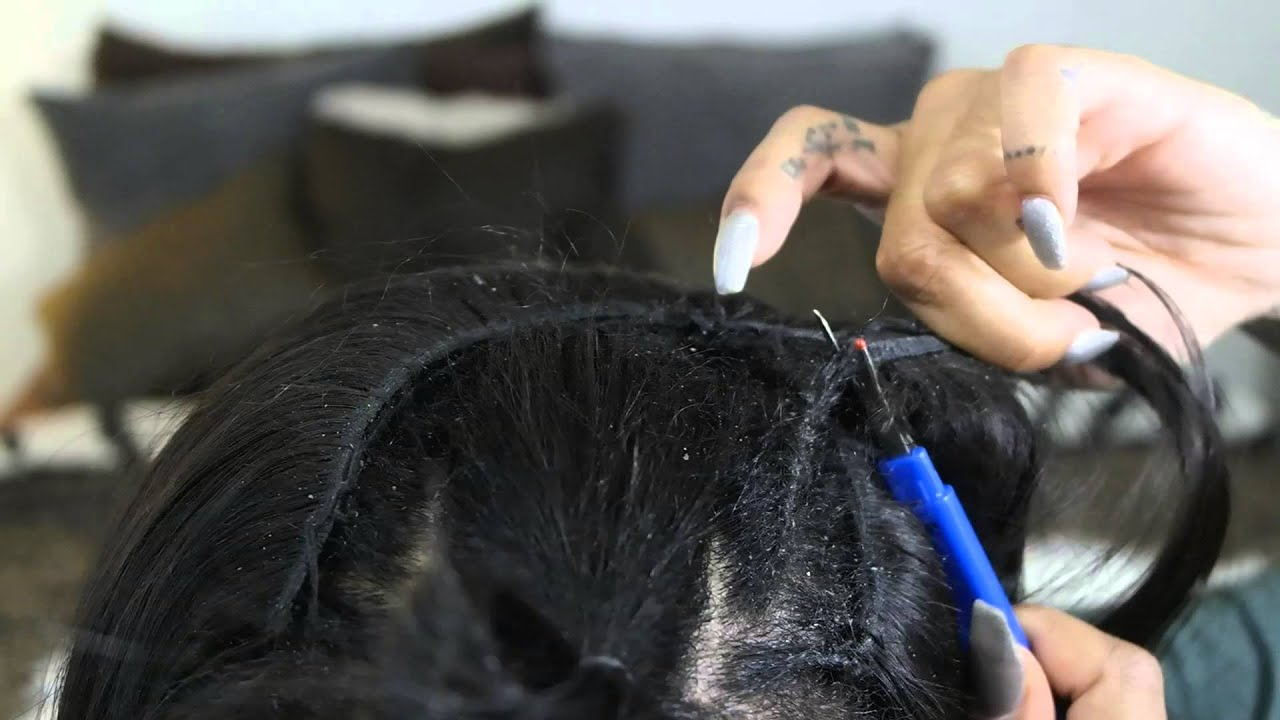 How to take out a sew in weave with a seam ripper youtube pmusecretfo Gallery