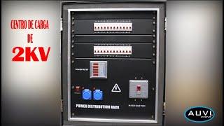 Centro de carga para audio iluminacion y video de 2KV