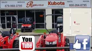 Tractors,  Lawn Mowers, Hay Equipment, and Rentals - Russellville Kubota
