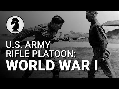 U.S. Army Rifle Platoon (World War I)