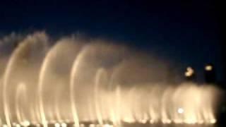 Dubai dancing fountains to arabic music