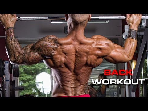 How to build a wide muscular back