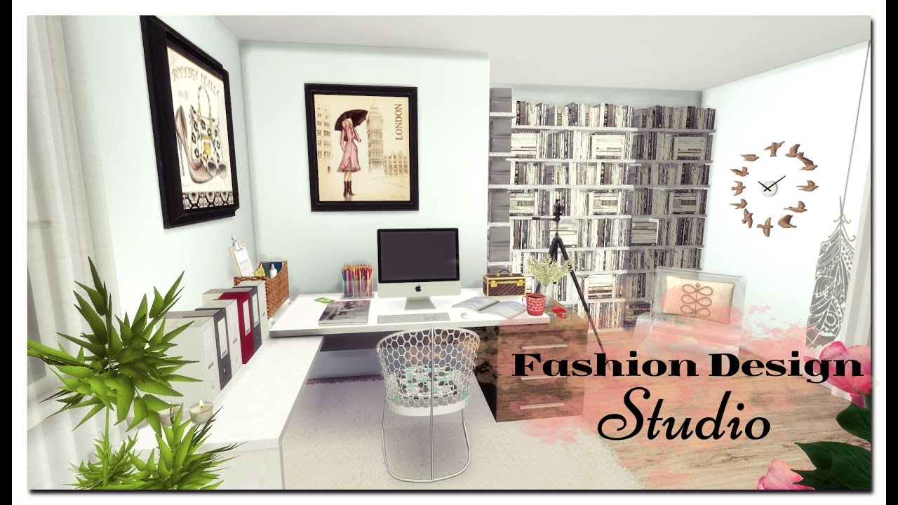 Sims Fashion Design Studio Room Mods For Download Youtube