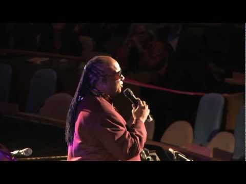 UN Day 2012 Concert for Peace with Stevie Wonder