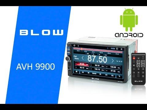 Radio samochodowe 2 DIN BLOW AVH 9900 / 78-277#