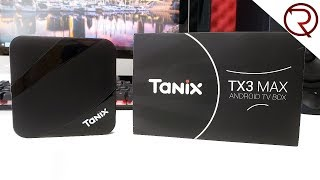 Affordable and Great Android TV Box - Tanix TX3 Max Review
