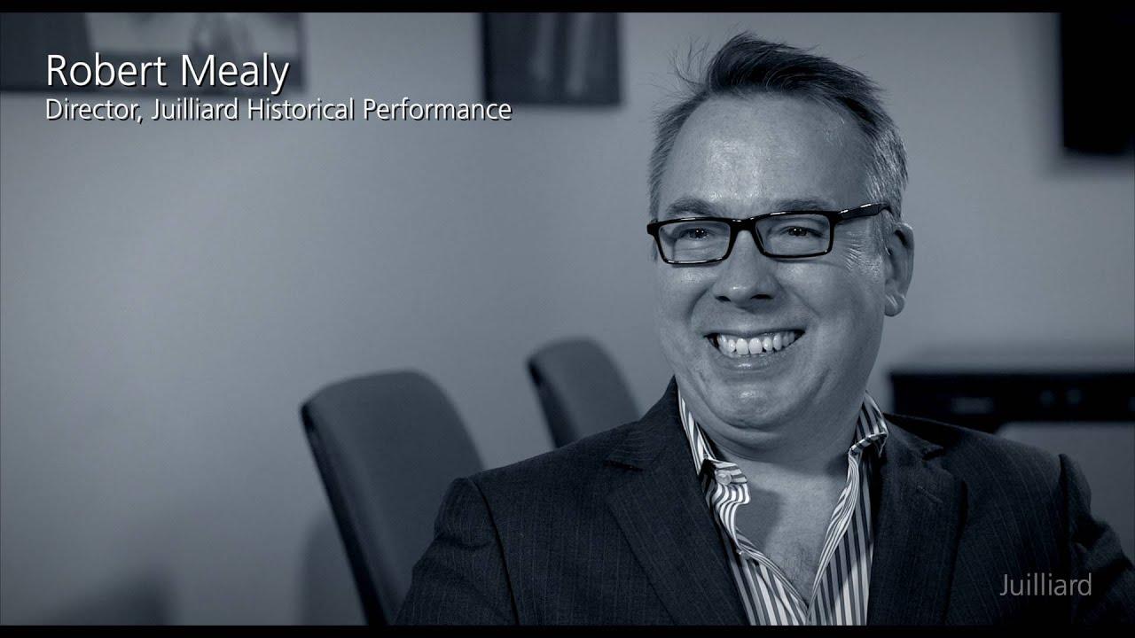 Juilliard Snapshot: Robert Mealy