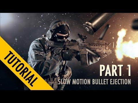 Slow motion bullet shells TUTORIAL PART 1
