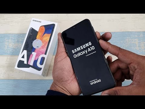 Samsung Galaxy A10 A105F Hard Reset |  Pattern Unlock | Face Lock Remove