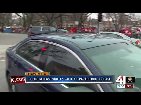 KCPD Releases Video, Radio Traffic Of Chiefs Kingdom Champions Parade Police Chase