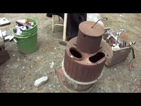 1916 Magic Brooder Pot Belly Stove Youtube