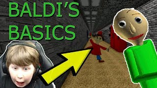 ROBLOX BALDI'S BASICS | WHAT'S WITH THIS KID?!?!
