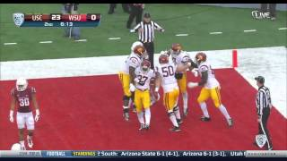 USC 44, Washington State 17 - Highlights (11/01/14)