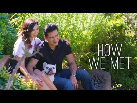 The Story of How We Met and Fell in Love  Mario and Courtney Lopez