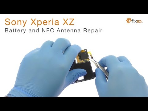 Sony Xperia XZ Battery And NFC Antenna Repair Guide - Fixez.com