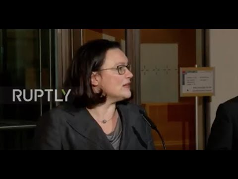 Germany: Nahles 'unanimously' nominated as new SPD leader