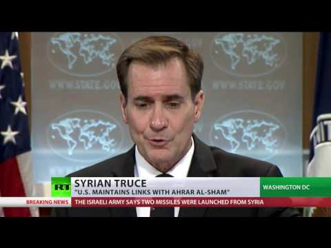 'Ahrar Al-sham not designated as terror group, we maintain contact with them' – US State dept