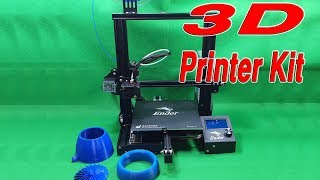 Assembly Ender 3  - The Best and Cheapest $200 3D Printer