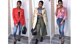 Vlog - Filming a SPRING LOOK BOOK in SAKS FITTING ROOM! | Beauty With Vee ♡