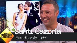 Santi Cazorla y Pablo hablan de la boda de Sergio Ramos y Pilar Rubio - El Hormiguero 3.0