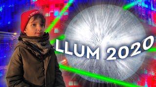 Стефан На Безумном Световом Шоу LLUM 2020 Barcelona | СМОТРИТЕ КАК ЭТО КРУТО !!!