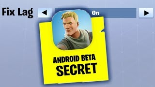 How To FIX LAG on Fortnite Mobile ANDROID