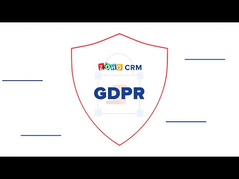 GDPR and Zoho CRM