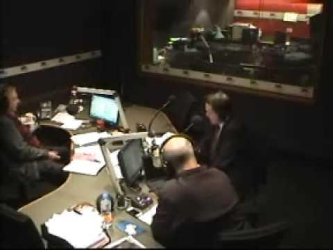 Richard Thomas sang live on 3AW Nightline with Philip Brady and Simon Owens Wed 070813