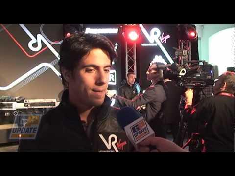 Virgin Racing driver Lucas di Grassi interview
