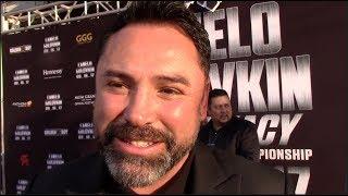 OSCAR DE LA HOYA DEFINITVE BREAKDOWN OF SAUL 'CANELO' ALVAREZ v GENNADY GOLOVKIN / iFL TV