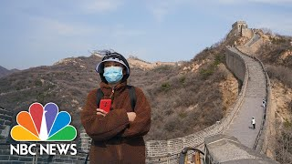 the Great Wall Of China Partially Reopens As Coronavirus Cases Drop In Country | NBC News