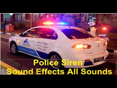 Police Siren Sound Effects All Sounds