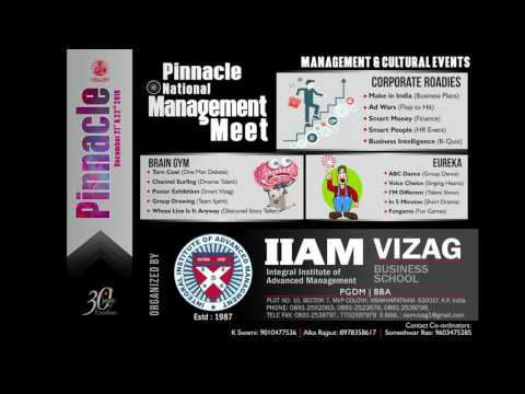 Pinnacle 2k16 vizag from IIAM college
