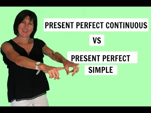 Present Perfect Continuous Vs Present Perfect Simple Learn English Grammar  - YouTube