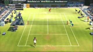VIRTUA TENNIS 2009 (PS3) VENUS WILLIAMS vs ANA IVANOVIC