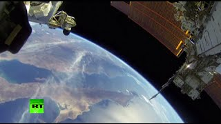 Cosmic GoPro: NASA astronauts conduct spacewalk outside ISS