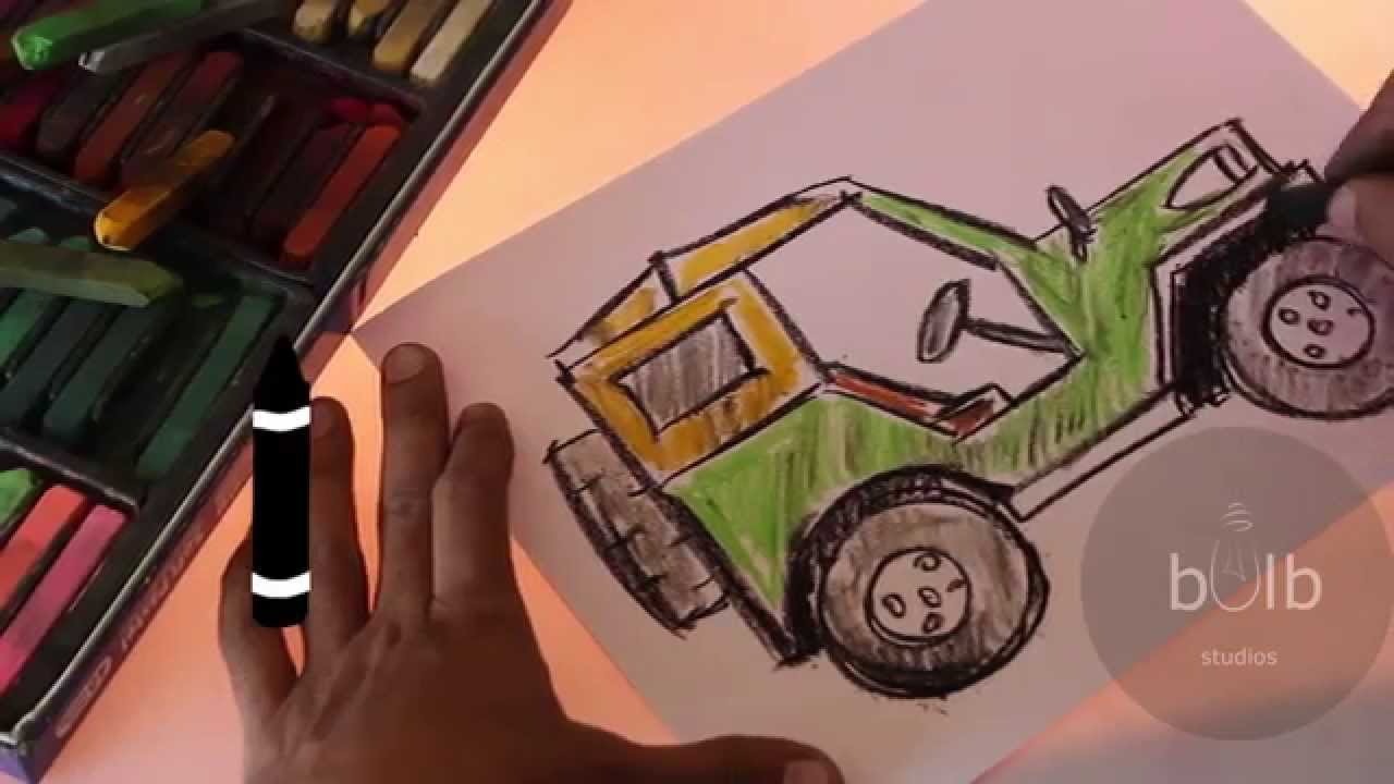 Scribble Drawing For Kids : How to draw a jeep scribble for kids youtube