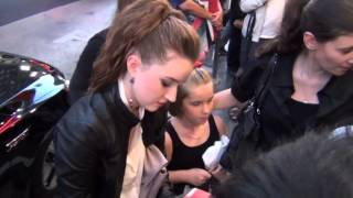 An American Girl Chrissa Stands Strong star Kaitlyn Dever takes the time to person