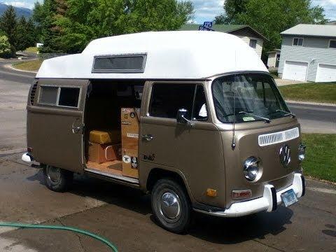 Bitterroot Rambler - A tour of my VW camper van.