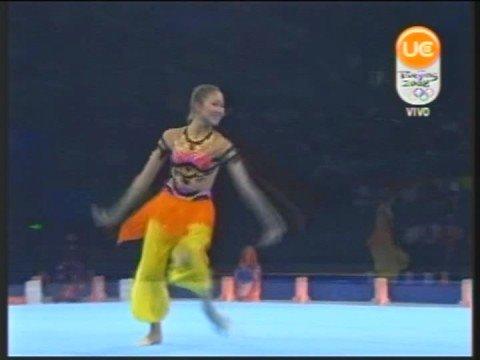 Aliya Garaeva 2008 Gala Beijing OG