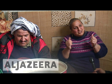 Iraq humanitarian crisis: Displaced people face freezing temperature