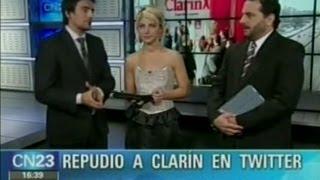Acusan a Periodistas- Masivo repudio a la denuncia de Clarin